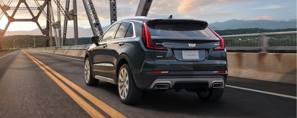 2020 Cadillac XT4 Crossover SUV Exterior Rear View