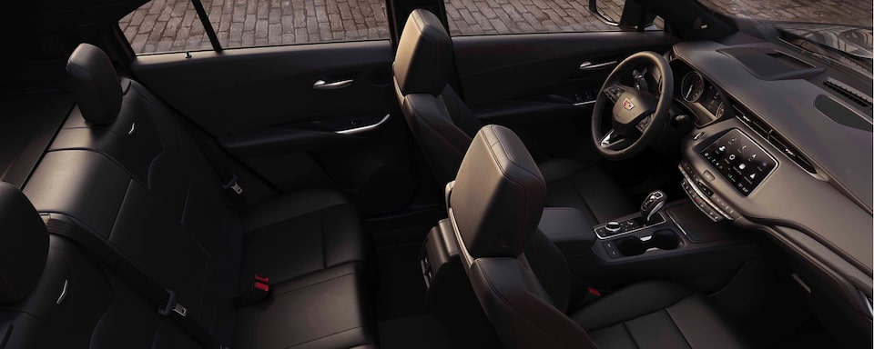 2020 Cadillac XT4 Crossover SUV Interior Seat View