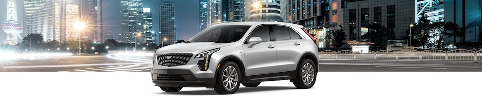 2020 Cadillac XT4 Crossover SUV Exterior Side View