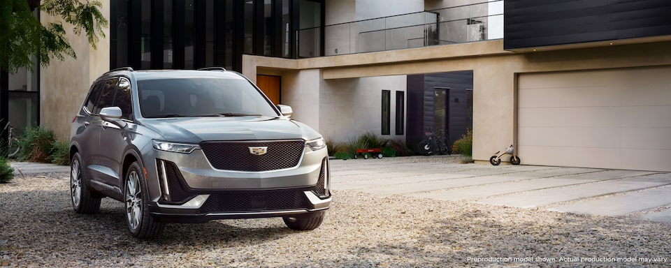 2020 Cadillac XT6 Luxury SUV Exterior Front View