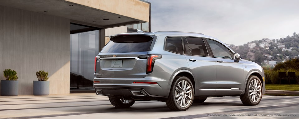 2020 Cadillac XT6 Luxury SUV Exterior Rear side View