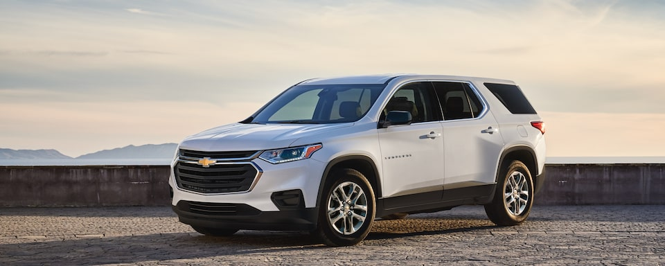 2020 Chevrolet Traverse SUV Exterior Front Side View