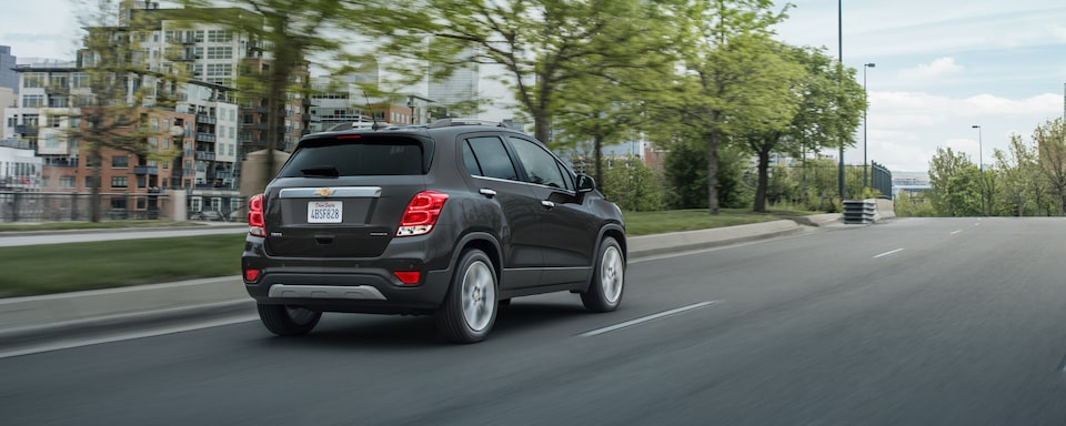 2020 Chevrolet Trax Compact SUV Exterior Rear Side View