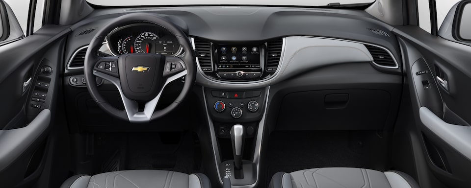 2020 Chevrolet Trax Compact SUV Interior Dash view