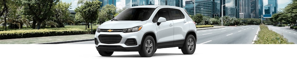 2020 Chevrolet Trax Compact SUV Front Side View