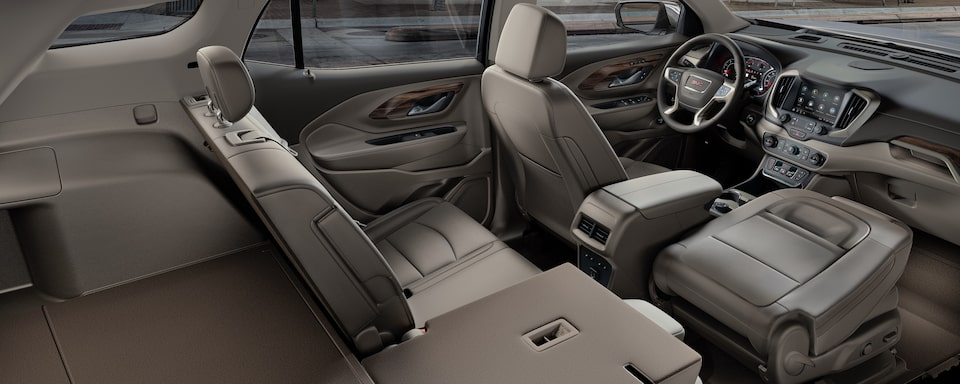 2020 GMC Terrain Compact Interior SUV Rear Seat View