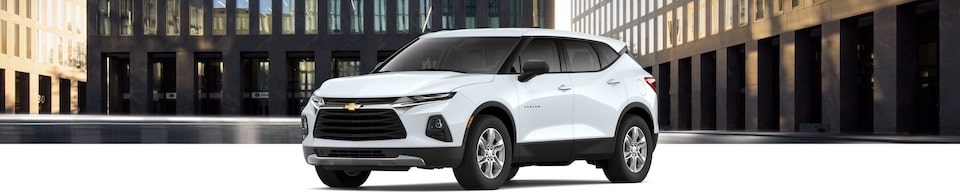 2021 Chevrolet Blazer Mid-Size Sporty SUV Front Side View