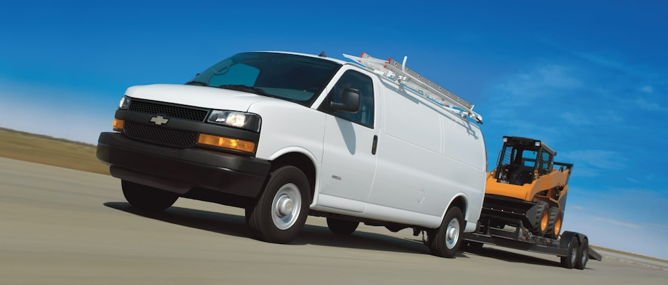 Chevrolet Express Cargo Work Van Exterior Side View