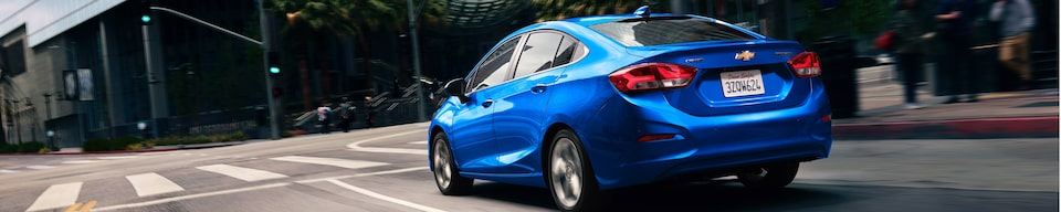 View GM Fleet Chevrolet Cruze Compact Car Alternatives