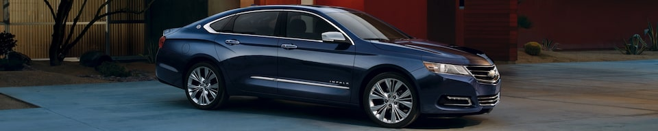 View GM Fleet Chevrolet Impala Full-size car Alternatives