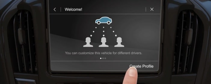 Video about how to create a profile on your GM Fleet Vehicle