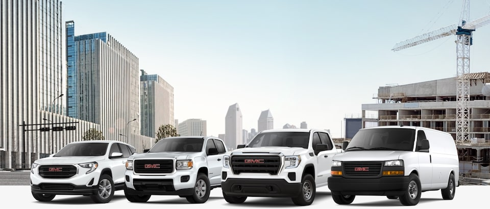 GM Fleet Vehicle Lineup