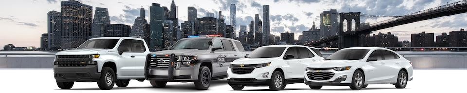 Government Fleet vehicles provided by GM Fleet and Commercial