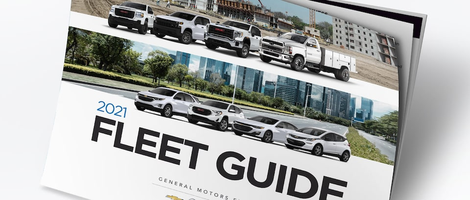 Download the 2021 GM Fleet Guide for in-vehicle technology, specialty vehicles, warranty and service options