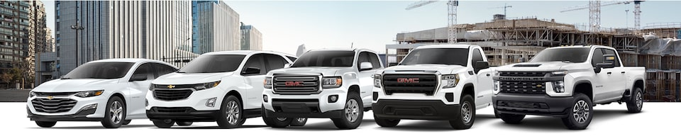 GM Fleet National Purchase Program Incentives- Vehicle Lineup