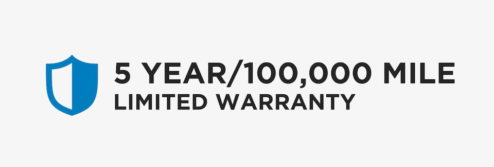GM Fleet Offers a 5 year/100,000 mile warranty for qualified accounts.