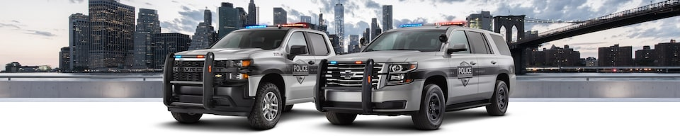 GM Fleet Police Vehicles Lineup