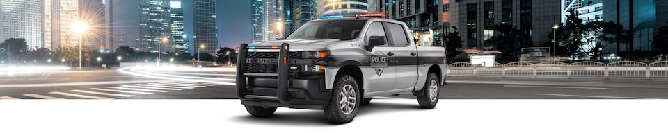 2020 Chevrolet Silverado Special Service Vehicle (SSV) Front Side View