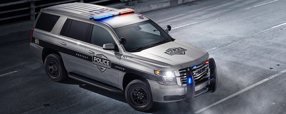 2020 Chevrolet Tahoe Police Pursuit Vehicle Exterior Front View
