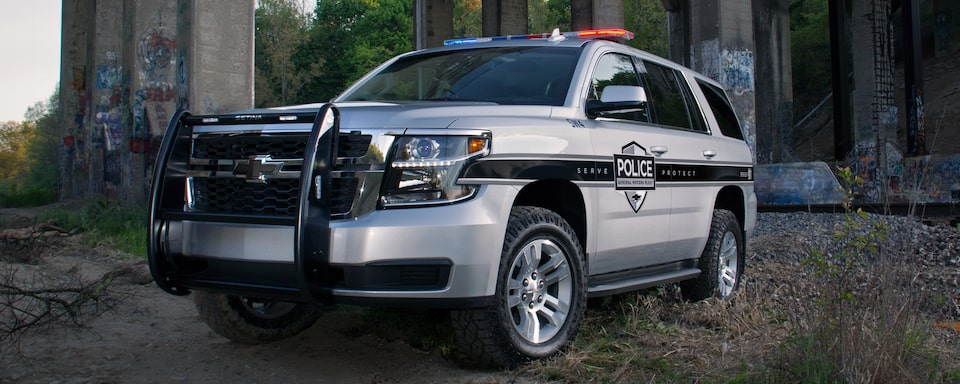 2020 Chevrolet Tahoe Special Service Vehicle Exterior Front View