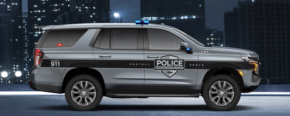 2021 Chevrolet Tahoe SSV Exterior Side View