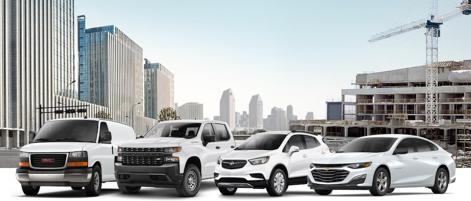 Research All GM Fleet Vehicles from Chevrolet, GMC, Buick and Cadillac