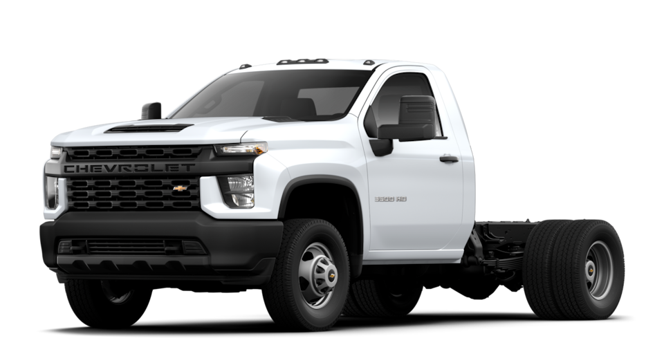 2019 Chevrolet Silverado 2500/3500HD Chassis Cab with Box Delete (ZW9) or Box Removal