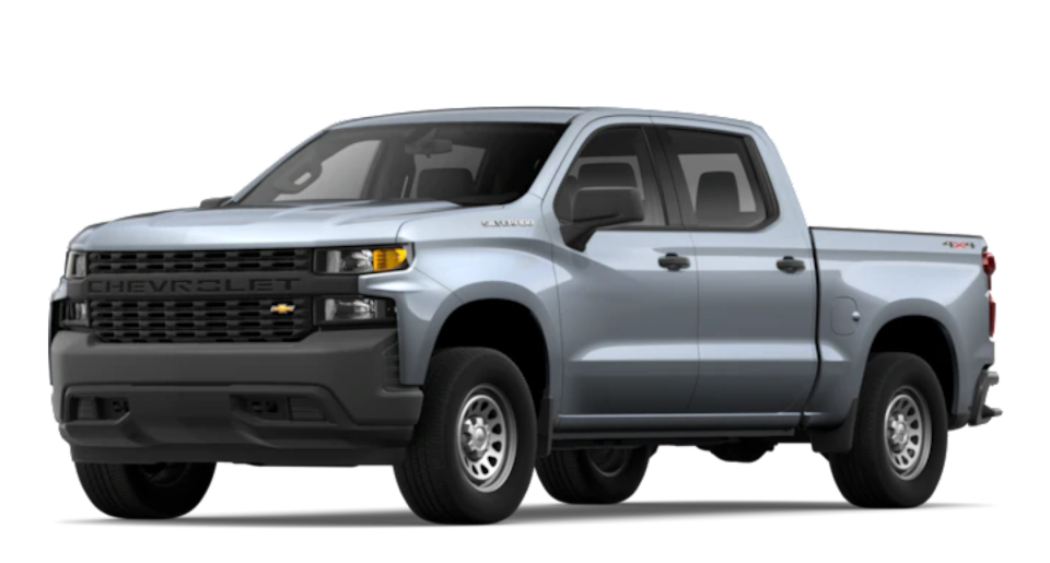 2019 Chevrolet Silverado 1500 Full-size Truck with Snow Plow