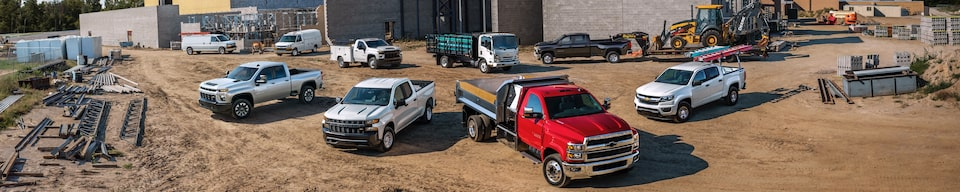 GM Fleet Commercial Work Truck Site