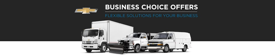 GM Fleet Business Choice Offers: Chevrolet Flexible Solutions
