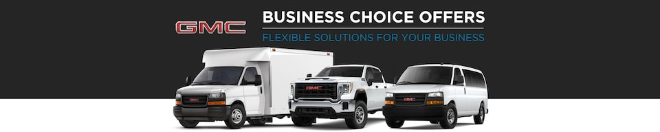 GM Fleet Business Choice Offers: GMC Flexible Solutions