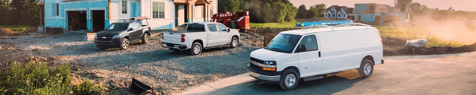 GM Fleet Commercial Vehicles: Home Building Work Site