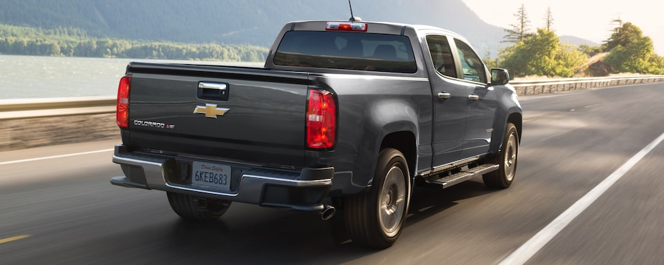 2019 Chevrolet Colorado Small Truck Back Exterior View