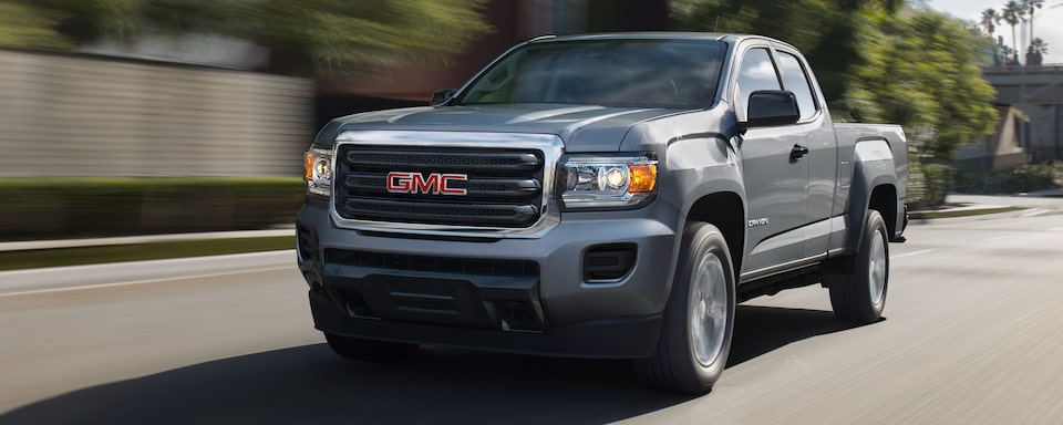 2019 GMC Canyon Small Pickup Truck Exterior Front View