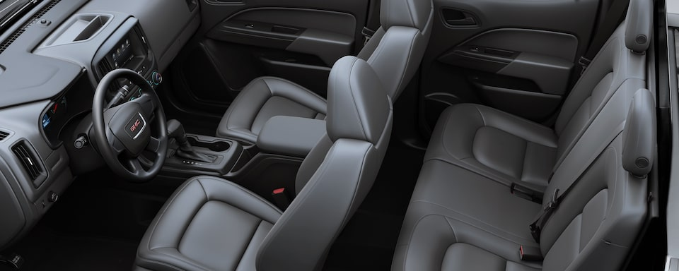 2019 GMC Canyon Small Pickup Truck Interior Seat View