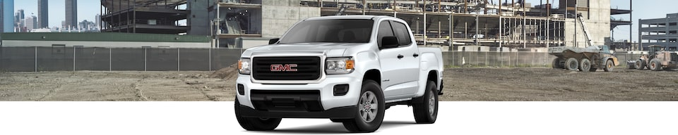2019 GMC Canyon Small Pickup Truck Front Exterior View
