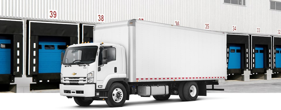 2020 Chevrolet 6500XD LCF Truck Front Side View