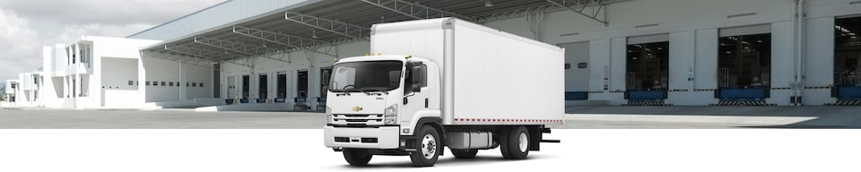 2020 Chevrolet Low Cab Forward (LCF) Truck Exterior Front Side View