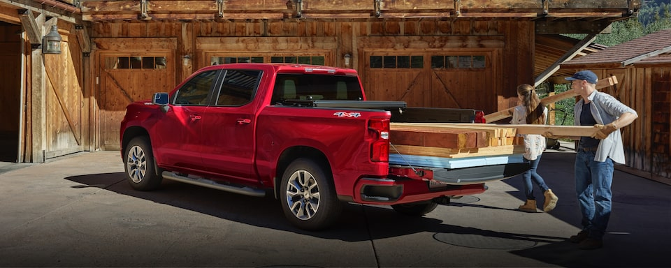 2020 Chevrolet Silverado 1500 Rear Exterior View