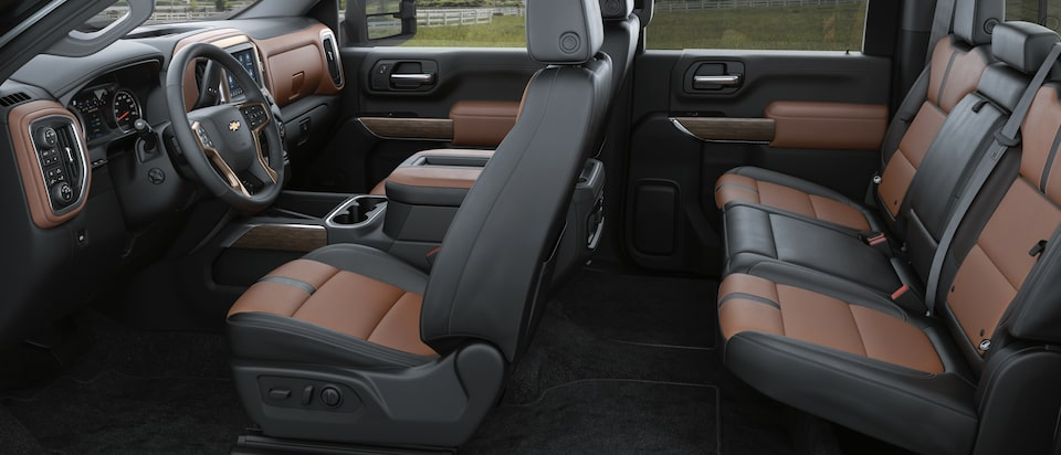 2020 Chevrolet Silverado HD Heavy Duty Truck Interior Seat View