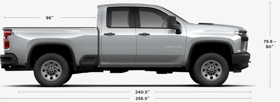 View 2020 Chevrolet Silverado 2500HD Double Cab Specs