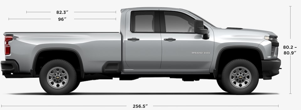 View 2020 Chevrolet Silverado 3500HD Double Cab Specs
