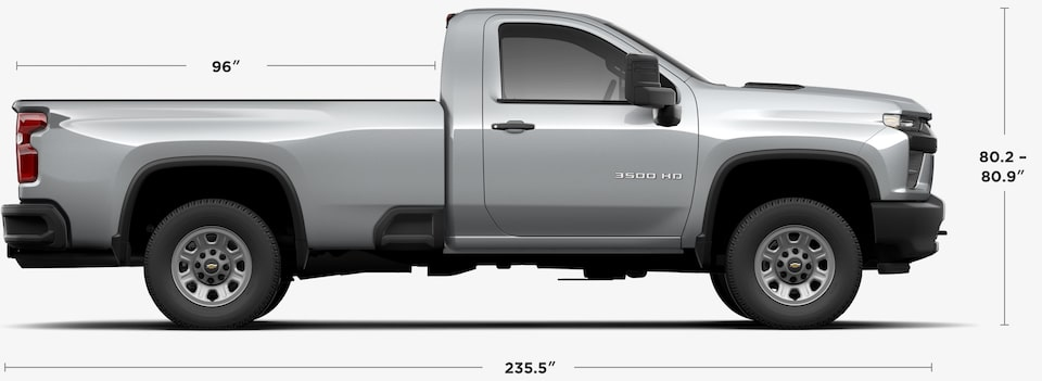 View 2020 Chevrolet Silverado 3500HD Regular Cab Specs