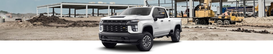 2020 Chevrolet Silverado HD Heavy Duty Truck Front Side View