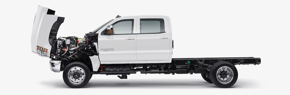 2020 Silverado Chassis Cab Exterior Key Features