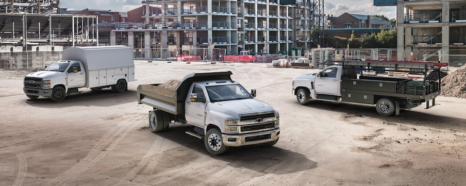 2020 Chevrolet Silverado Chassis Cab Truck Lineup