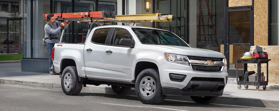 2020 Chevrolet Colorado Mid-Size Work Truck Exterior View