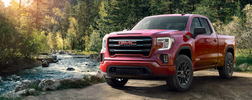 2020 GMC Sierra 1500 Full size Pickup Truck Exterior Front View