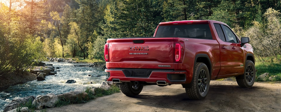 2020 GMC Sierra 1500 Full size Pickup Truck Exterior Rear View