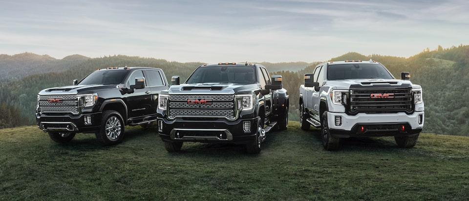 2020 GMC Sierra HD Heavy Duty Truck Lineup Exterior Front View
